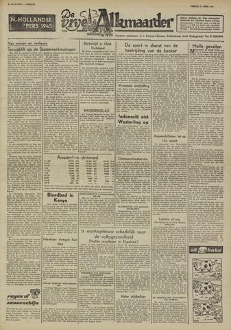 De Vrije Alkmaarder 1950-04-28