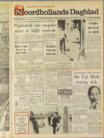 Noordhollands Dagblad : dagblad voor Alkmaar en omgeving 1969-09-03