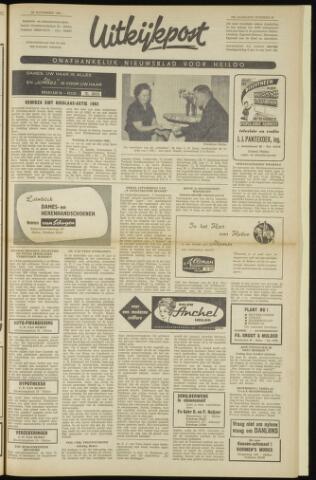 Uitkijkpost : nieuwsblad voor Heiloo e.o. 1962-11-22