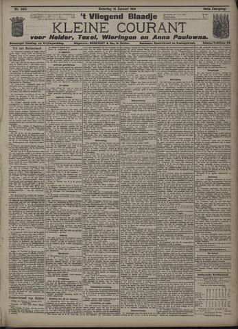 Vliegend blaadje : nieuws- en advertentiebode voor Den Helder 1910-01-15