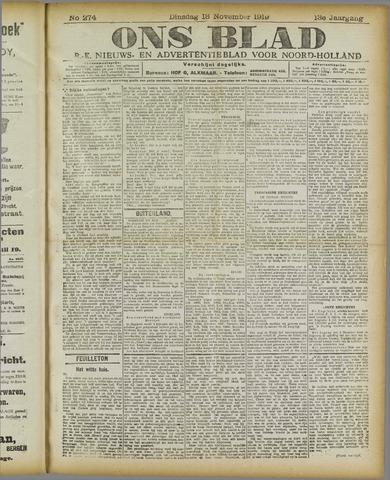 Ons Blad : katholiek nieuwsblad voor N-H 1919-11-18