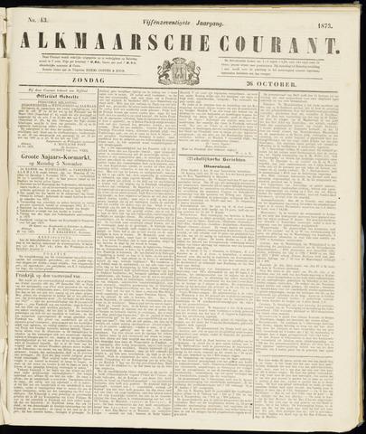 Alkmaarsche Courant 1873-10-26