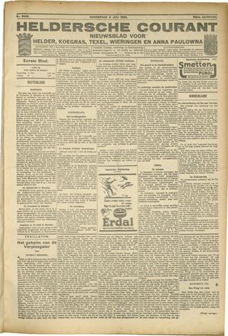 Heldersche Courant 1925-07-09