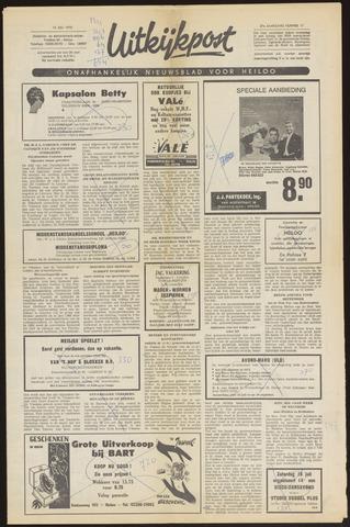 Uitkijkpost : nieuwsblad voor Heiloo e.o. 1970-07-15