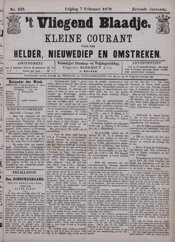 Vliegend blaadje : nieuws- en advertentiebode voor Den Helder 1879-02-07