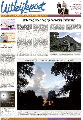 Uitkijkpost : nieuwsblad voor Heiloo e.o. 2014-08-20
