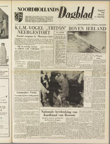 Noordhollands Dagblad : dagblad voor Alkmaar en omgeving 1954-09-06
