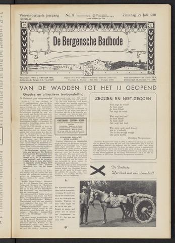 Bergensche bad-, duin- en boschbode 1950-07-22