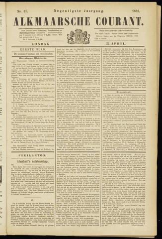 Alkmaarsche Courant 1888-04-22