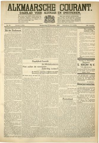 Alkmaarsche Courant 1933-12-21
