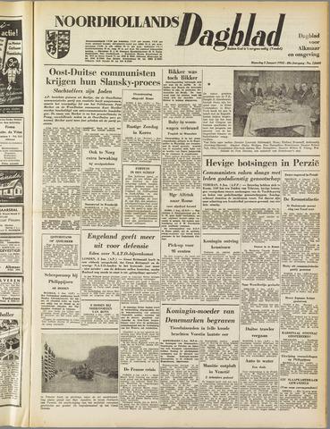 Noordhollands Dagblad : dagblad voor Alkmaar en omgeving 1953-01-05