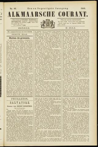 Alkmaarsche Courant 1889-07-21