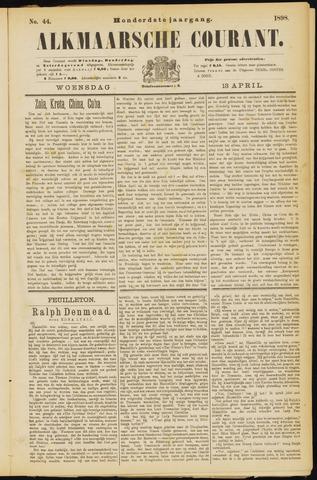 Alkmaarsche Courant 1898-04-13