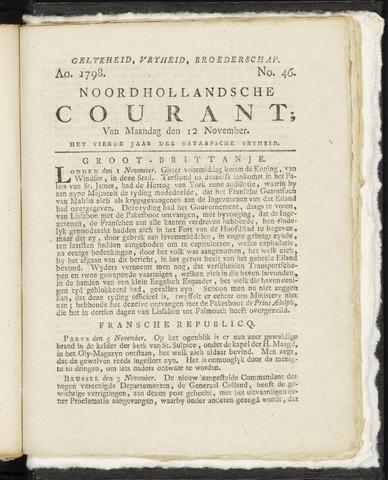 Noordhollandsche Courant 1798-11-12