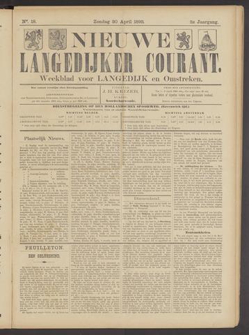 Nieuwe Langedijker Courant 1893-04-30
