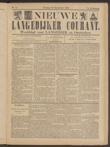 Nieuwe Langedijker Courant 1898-12-18