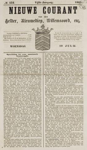 Nieuwe Courant van Den Helder 1865-07-19