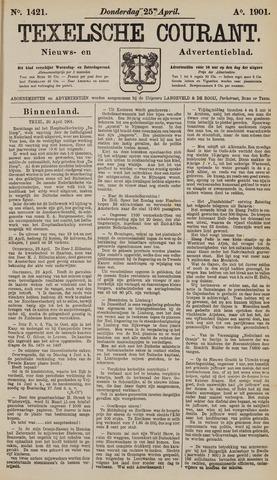 Texelsche Courant 1901-04-25