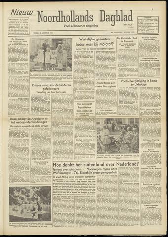 Nieuw Noordhollandsch Dagblad : voor Alkmaar en omgeving 1948-08-06