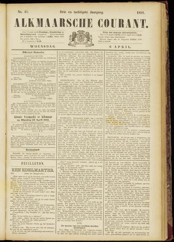 Alkmaarsche Courant 1881-04-06