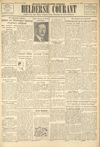 Heldersche Courant 1949-07-19