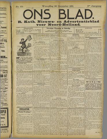 Ons Blad : katholiek nieuwsblad voor N-H 1911-12-20