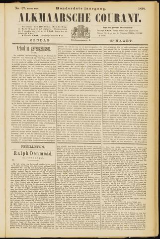 Alkmaarsche Courant 1898-03-27