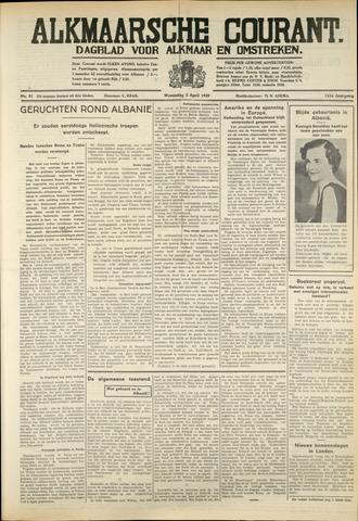 Alkmaarsche Courant 1939-04-05