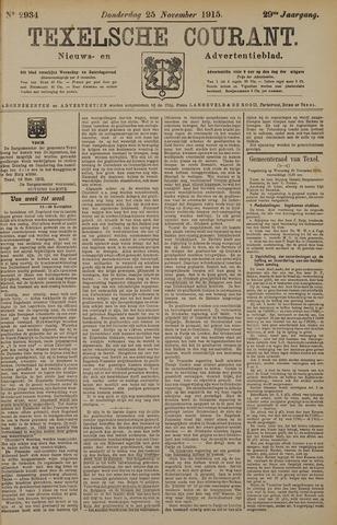 Texelsche Courant 1915-11-25