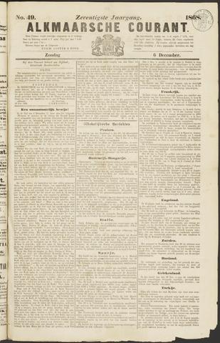 Alkmaarsche Courant 1868-12-06