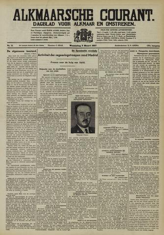 Alkmaarsche Courant 1937-03-03