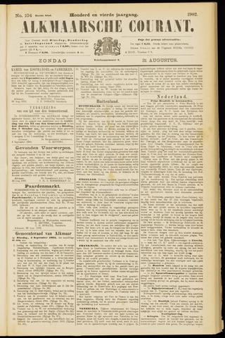 Alkmaarsche Courant 1902-08-31