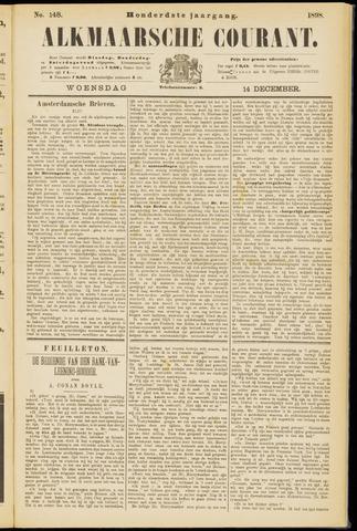Alkmaarsche Courant 1898-12-14