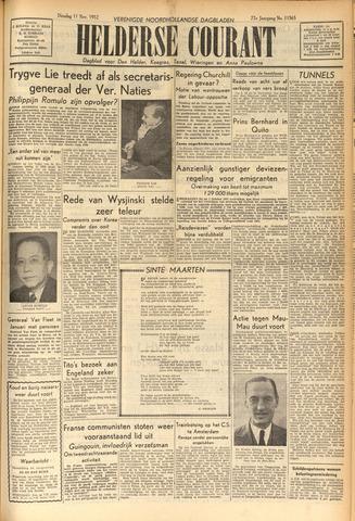 Heldersche Courant 1952-11-11