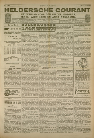 Heldersche Courant 1930-03-15