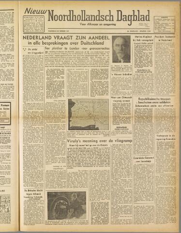 Nieuw Noordhollandsch Dagblad : voor Alkmaar en omgeving 1947-01-29