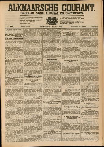 Alkmaarsche Courant 1930-06-26