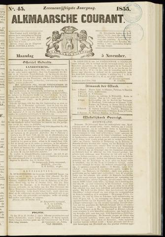Alkmaarsche Courant 1855-11-05