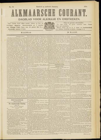 Alkmaarsche Courant 1914-03-30