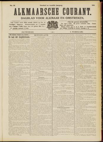 Alkmaarsche Courant 1910-02-05