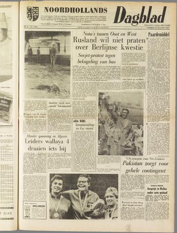 Noordhollands Dagblad : dagblad voor Alkmaar en omgeving 1962-08-25