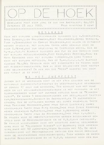 Op De Hoek, weekblad voor Akersloot 1960-07-23