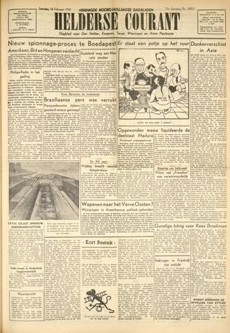 Heldersche Courant 1950-02-18