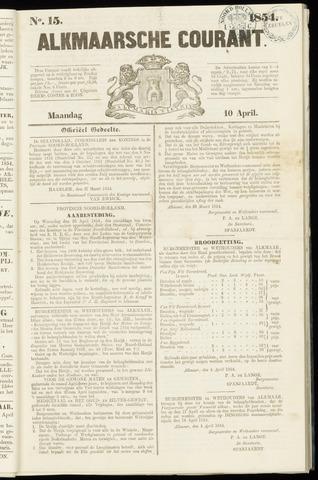 Alkmaarsche Courant 1854-04-10