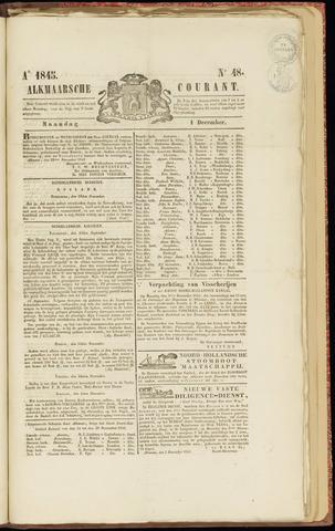 Alkmaarsche Courant 1845-12-01