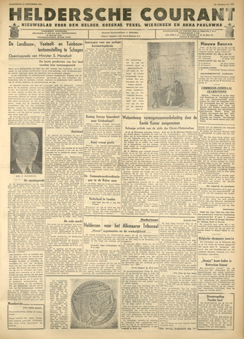 Heldersche Courant 1946-09-19