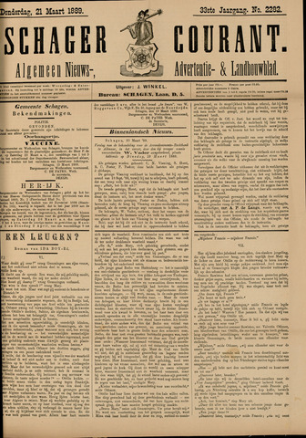 Schager Courant 1889-03-21