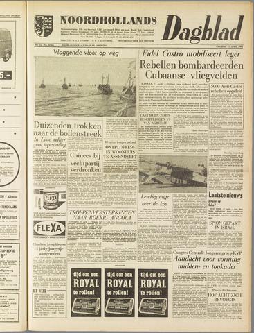 Noordhollands Dagblad : dagblad voor Alkmaar en omgeving 1961-04-17