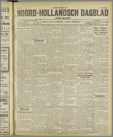 Ons Blad : katholiek nieuwsblad voor N-H 1922-08-28