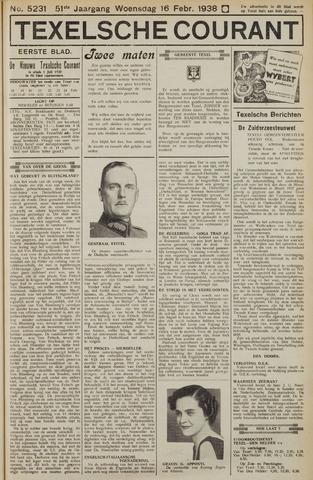 Texelsche Courant 1938-02-16